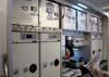 Os fornos e a cafeteria do Airbus A380, número de série 007, F-WWJB, futuro avião da Emirates. (11/12/2007)