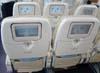 Monitores individuais dos assentos da Classe Econômica do Airbus A380, número de série 007, F-WWJB, futuro avião da Emirates. (11/12/2007)