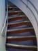 Escada localizada atrás da Classe Econômica do Airbus A380, número de série 007, F-WWJB, futuro avião da Emirates. (11/12/2007)