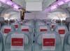Assentos da Classe Econômica do deck superior do Airbus A380, número de série 007, F-WWJB, futuro avião da Emirates. (11/12/2007)