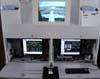 Computadores usados para registrar as fases de vôo do Airbus A380, número de série 007, F-WWJB, futuro avião da Emirates. (11/12/2007)