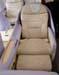 Assento da Classe Executiva do Airbus A380, número de série 007, F-WWJB, futuro avião da Emirates. (11/12/2007)