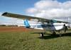 Cessna 152, PR-EJJ, da EJ Escola de Aviação Civil. (12/07/2009) Foto: Júnior JUMBO.
