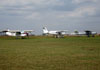 Aeronaves estacionadas. (22/09/2013) Foto: Júnior JUMBO.