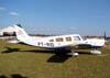 Piper/Neiva EMB-720D Minuano, PT-RID, aeronave de apoio aos pilotos Tike e Beto Bazaia nos shows aéreos. (19/07/2008)
