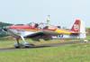 "Vans RV-6, PT-ZAX, do Comandante Beto Textor, pilotado pelo Textor ""Filho""."