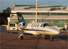 Cessna 525 Citation CJ1, PR-SKW, da EJ Escola de Aviação Civil. (02/08/2014)