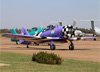 North American T-6D, PT-LDQ, do Circo Aéreo. (02/08/2014)