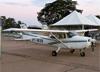 Cessna 172R Skyhawk, PT-WVN, da Sierra Bravo Aviation Escola de Aviação Civil. (02/08/2014)
