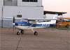 Cessna 152, PT-VTU, da Sierra Bravo Aviation Escola de Aviação Civil. (02/08/2014)