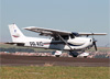 Cessna 172S Skyhawk, PR-AIO, do Aeroclube de Catanduva. (24/06/2017)