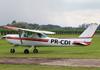 Cessna 152, PR-CDI, da Cruzeiro do Sul Aviação. (28/11/2015)