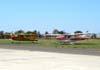 Cessna 170A, PT-JFM (esquerda) e Cessna 182P Skylane, PT-JSR.