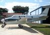 Beechcraft King Air C-90 GT, N7007Y, fabricado em 2007. (05/05/2007) Foto: Marcelo Faé Ferreira.