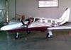 Piper PA-34-220T Seneca V, PR-FRV. (29/04/2010) Foto: Sérgio Cardoso.