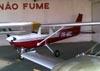 Cessna 152, PR-WRC, do Aeroclube de Catanduva. (29/04/2010) Foto: Sérgio Cardoso.