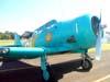North American T-6D, PT-KRC, aeronave número 1 da Esquadrilha OI. Foto: João Thiago Domingues.