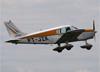 Piper PA-28-140 Cherokee, PT-JZK, do Aeroclube de Bragança Paulista. (18/06/2017)