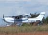 Pouso do Cessna 182S Skylane, PT-WYJ. (25/11/2006)