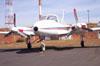 EMB-820C, Piper/Embraer Navajo, estacionado no pátio. (27/07/2006)