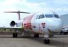 Fokker 100, PT-MQT, da TAM. (04/10/2007)