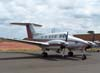 Beechcraft King Air F-90, PT-LTT, da Encalso. (11/11/2006)