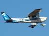 Decolagem do Cessna 152, PR-EJC, da EJ Escola de Aviação Civil. (13/03/2008)