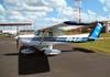 Cessna 152, PR-EJC, da EJ Escola de Aviação Civil. (13/03/2008)
