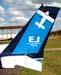 Cauda do Cessna 152, PR-EJC, da EJ Escola de Aviação Civil. (13/03/2008)