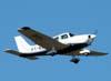 Decolagem do Piper/Neiva EMB-712 Tupi, PT-NXW, da Mariano Escola de Aviação. (13/03/2008)