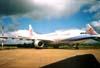 Airbus A330-223, PT-MVB, logo depois voltar da China Airlines (de Taiwan), que pintou os dois aviões, (o outro foi o PT-MVA), mas não chegou a operá-los devido à gripe aviária (SARS) e os devolveu à TAM, que os alugou (wet lease) para a South African e para a Etihad até 2006 (PT-MVA) e 2005 (PT-MVB), quando retornaram à companhia paulista, que o recebeu diretamente do fabricante em 23 de novembro de 1998. (04/2003) Foto: Rogério Castellao.