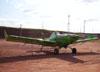Neiva EMB-201AR Ipanema (PT-GVS), estacionado no pátio da aviação geral.
