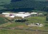 Vista aérea do aeroporto de São Carlos. (01/02/2012)