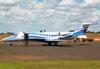 Bombardier Learjet 45, PR-HVN, da Lojas Havan. (01/02/2012)