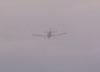 Piper/Embrer EMB-712 Tupi, PT-NXW, da Mariano Escola de Aviação, furando as nuvens. (02/09/2006)