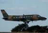 Embraer EMB-110P-1K Bandeirante, C-95B, FAB 2309, do PAMA (Parque de Material Aeronáutico) de São Paulo (Campo de Marte), recolhendo o trem de pouso no momento da decolagem. (05/07/2007)