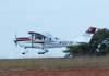 Cessna 206 TC StationAir, N1227K, no momento da decolagem. (05/07/2007)