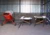 Aero Boero 115, PP-GER, do Aeroclube de São Carlos, sem motor e asas, que estão do lado direito, no interior do hangar da instituição. Esta aeronave não voa desde 2000. O aeroclube de São Carlos conta com outra aeronave desse modelo, o PP-GBP. (05/07/2007)