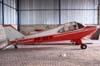 Aero Boero 115, PP-GER, do Aeroclube de São Carlos, no interior do hangar da instituição. Esta aeronave não voa desde 2000. O aeroclube de São Carlos conta com outra aeronave desse modelo, o PP-GBP. (05/07/2007)