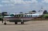 Cessna 208B Grand Caravan, PT-WIO, da TAM Táxi Aéreo Marília, ex-Skylift Air Charter, estacionado no pátio do Centro Tecnológico da TAM. (05/09/2007)