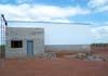Lateral do hangar do Aeroclube de São Carlos, ainda em construção. (12/05/2007)