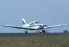 Piper/Neiva EMB-712 Tupi, PT-VFK, saindo da pista e entrando na taxiway que dá acesso ao pátio da aviação geral. (12/05/2007)