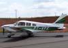 Piper/Neiva EMB-712 Tupi, PT-VFK, entrando no pátio da aviação geral. (12/05/2007)