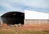 Construção de um hangar de uma empresa de táxi aéreo. (15/06/2008)