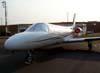 Cessna 550 Citation II, PT-LTJ, da Global Táxi Aéreo, estacionado no pátio da aviação geral. (22/09/2007)