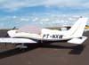 Piper/Embraer EMB-712 Tupi, PT-NXW, da Mariano Escola de Aviação, logo após receber a pintura com as cores do Archer III. (26/12/2006)