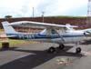 Cessna 150J, PT-AKY, da Mariano Escola de Aviação. (28/01/2007)