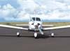 Piper/Embraer EMB-712 Tupi, PT-NXW, da Mariano Escola de Aviação, taxiando no pátio de aviação geral. (28/01/2007)