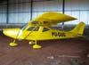 Experimental Potty II, PU-GUG, do Robinson Lindbergh, agora com hélice bipá de madeira. (28/01/2007)