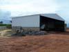 Recomeço da construção do hangar do Aeroclube de São Carlos. (28/01/2007)